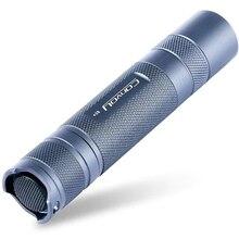Caravana S2 + 7135x6 5 modos XML2 940 lúmenes LED Flashlightt 1x18650 titanio para Camping linterna lámpara foco de caza