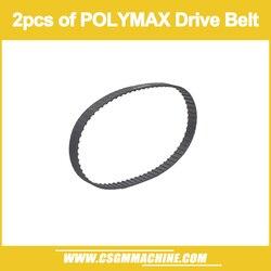 O envio gratuito de 2 peças de polymax unidade cinto/wm210 torno máquina cinto