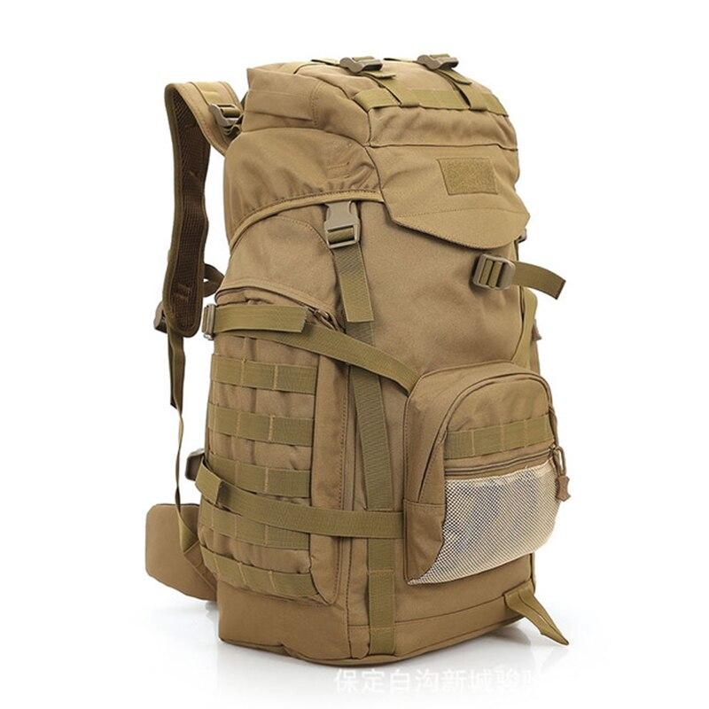 Mochila táctica Molle de Camuflaje para exteriores, bolsa militar Plegable e Impermeable,...