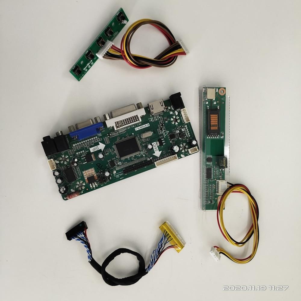 طقم لوحة تحكم LCD لـ B133EW01 V2/V1/V3/V0 ، 20 دبوس ، M.NT68676 ، 1 مصباح ، HDMI DVI VGA ، 1280 × 800 ، شاشة عرض صوتية