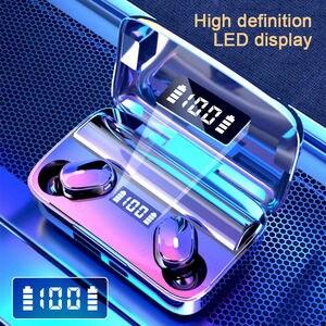 Bluetooth Wireless Earphones Headphones EarbudsStereo Mini In-Ear Headset