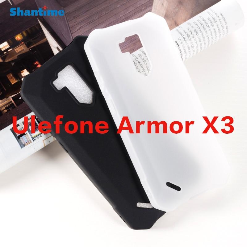 Para Ulefone Armor X3 Gel Pudding silicona teléfono Carcasa protectora trasera para Ulefone Armor X5 Soft TPU Case