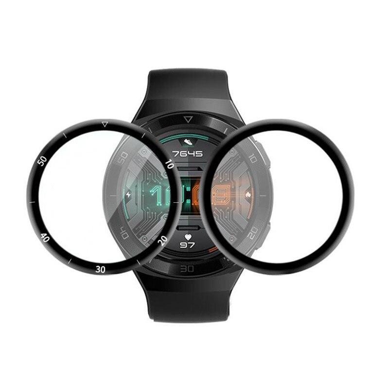 Защитная пленка из мягкого волокна с изогнутыми краями 3D для Huawei Watch GT 2e/GT2 E Smartwatch, полная защита экрана, чехол GT2E