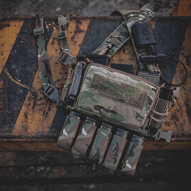 Pew Tactical D3CRM 2.0 Tactical Chest Rig Haley Strategic Style  Airsoft