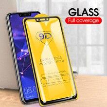 Pour Huawei Mate 30 20 10 Pro Lite P Smart 2019 Z verre 9D incurvé couverture complète verre trempé protecteur décran Film feuille