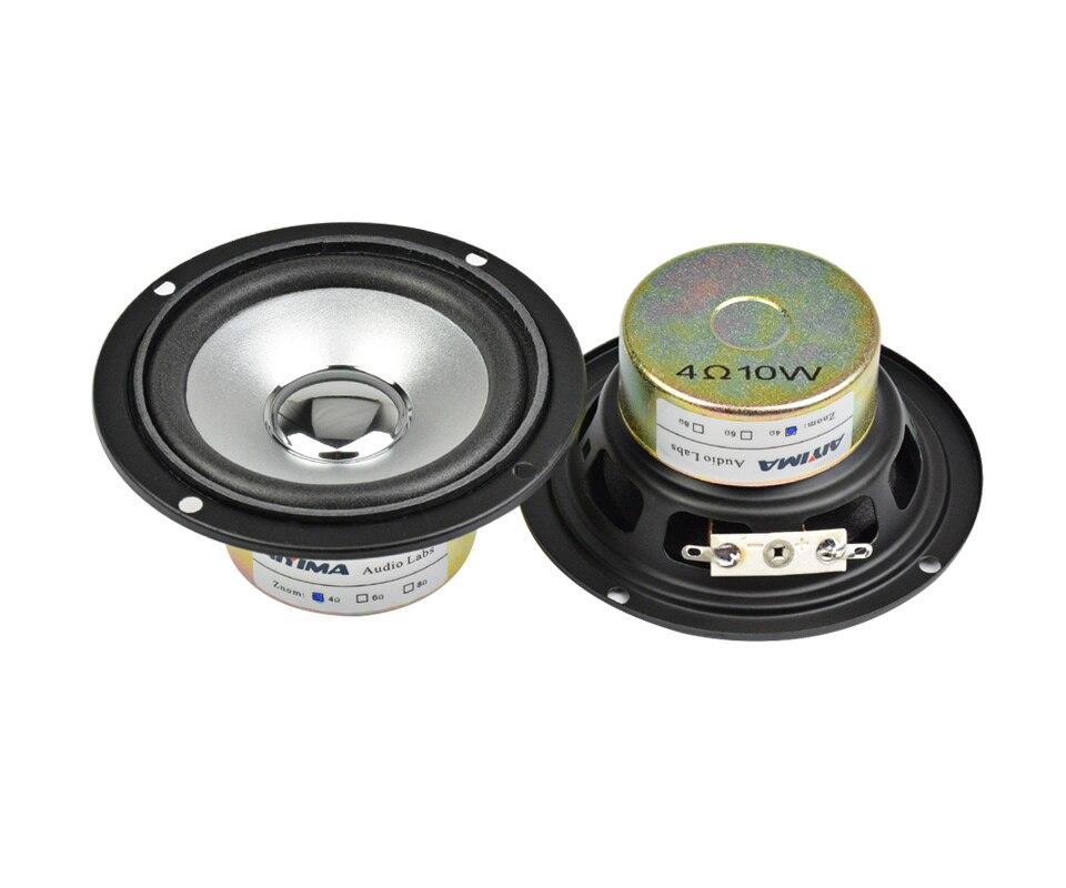 AIYIMA-Altavoz portátil de 3 pulgadas para cine en casa Altavoz HIFI estéreo...