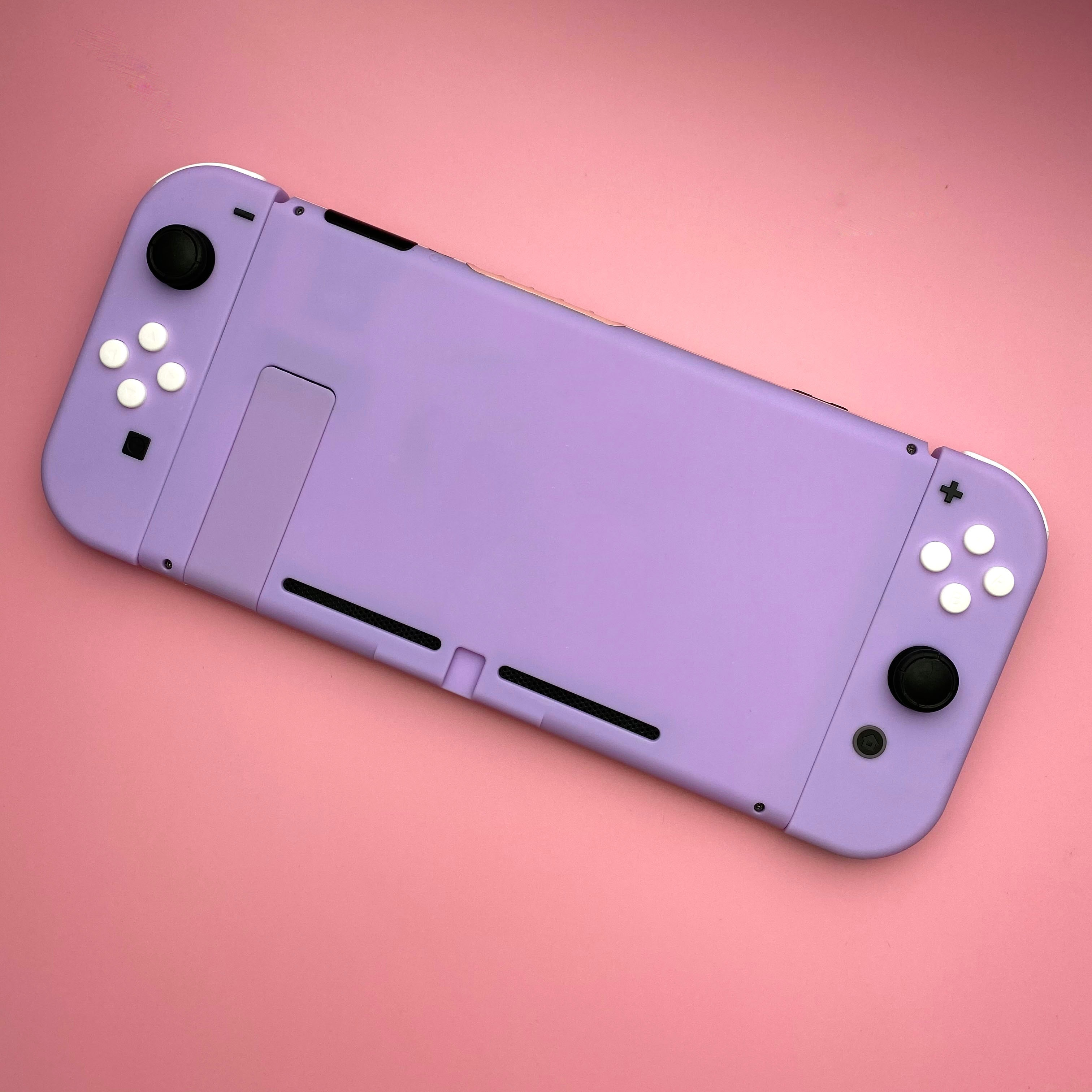 Replacement Switch Console Back Plate Purple Cover Case for Nintendos Switch NS Game Console Joy Con Housing Shell Case Repair enlarge