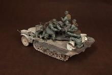1/35 Soldiers 5 Figures (no Vehicle) Resin Figure Building Kit
