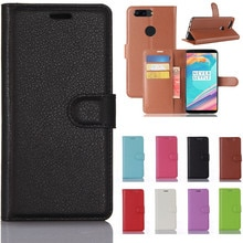 Oneplus 1 2 3 X 5 5T 6 Case Cover Luxury Flip PU Leather Wallet Coque Phone Bag For Oneplus5T Oneplu