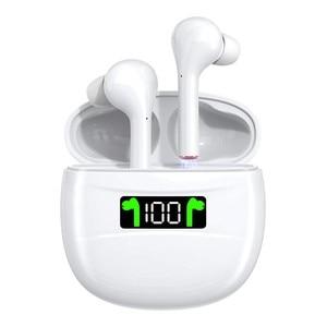 TWS беспроводные наушники Bluetooth 5,0, наушники IPX7, водонепроницаемые наушники со светодиодным дисплеем, HD стерео, со встроенным микрофоном для ...