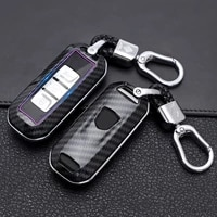 abs carbon fiber pattern car remote key case cover for baojun 510 730 360 560 rs 5 530 630 protector key covers car accessories