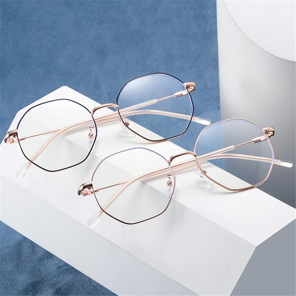 Women UV400 Round Metal Sunglasses Driving Fashion Glasses Retro Vintage