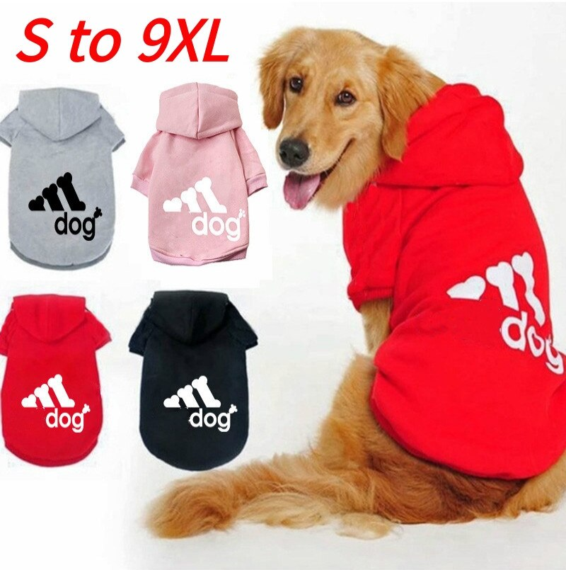 Dog Clothes Dogs Hoodies Sweatshirt Dog Jacket Clothing Pet Costume Large Small Medium Pets Dogs Clo