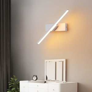 Modern Led Wall Light Home Bedroom Bedside Wall Lamps Nordic Living Room Minimalist Creative Stair Aisle Revolve Loft Wall Lamps