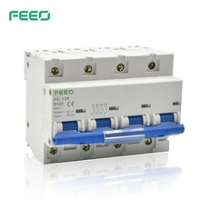 FEEO 4P FE-125 400V 125A mini circuit breaker AC MCB