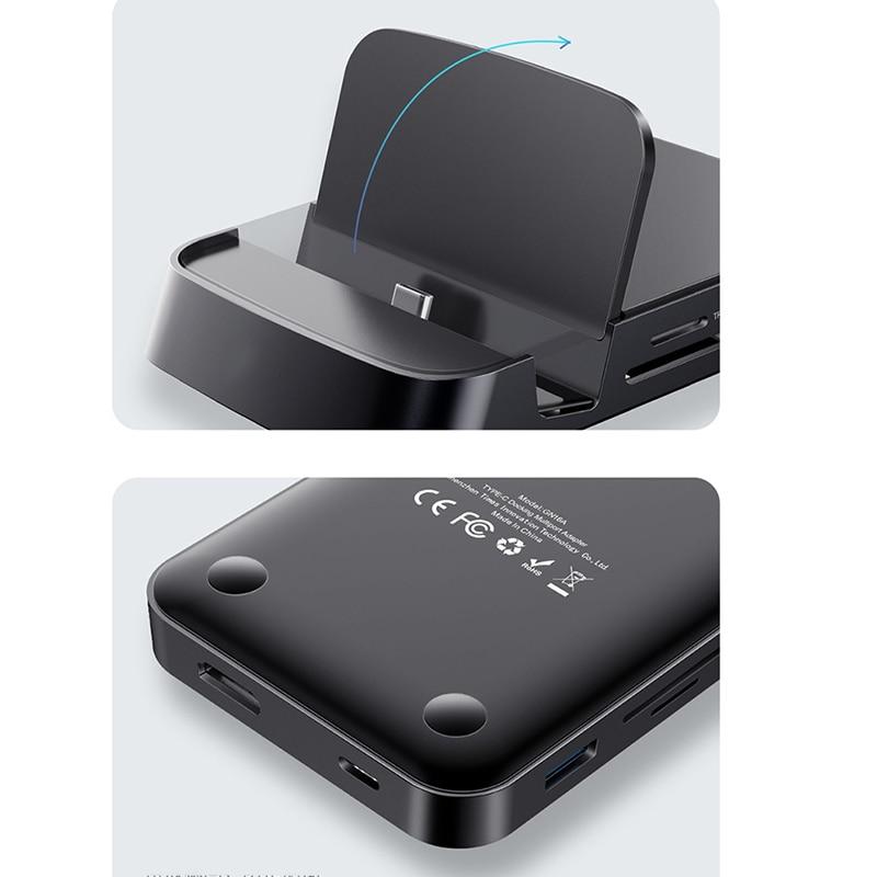 Мини-Док-станция с разъемом HDMI для подключения проектора типа C