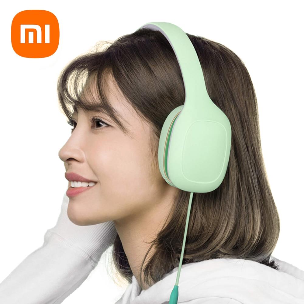 Xiaomi-سماعة رأس Mi أصلية ، سماعة رأس رياضية مريحة للهواتف المحمولة ، إصدار سهل ، 3.5 مللي متر