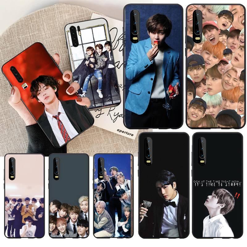 PENGHUWAN Kpop Bangtan Boys DIY Luxus Telefon Fall für Huawei Ehre 20 10 9 8 8x 8c 9x 7c 7a lite ansicht