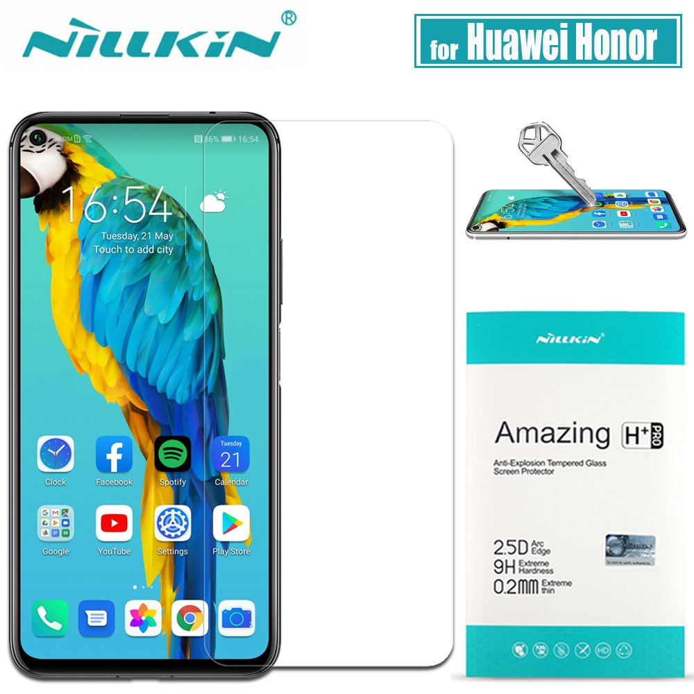 Для Huawei Honor V30 20 Pro 10 9X 8X стекло Nillkin 9H твердое защитное закаленное стекло для экрана для Huawei Honor V30 20 Pro