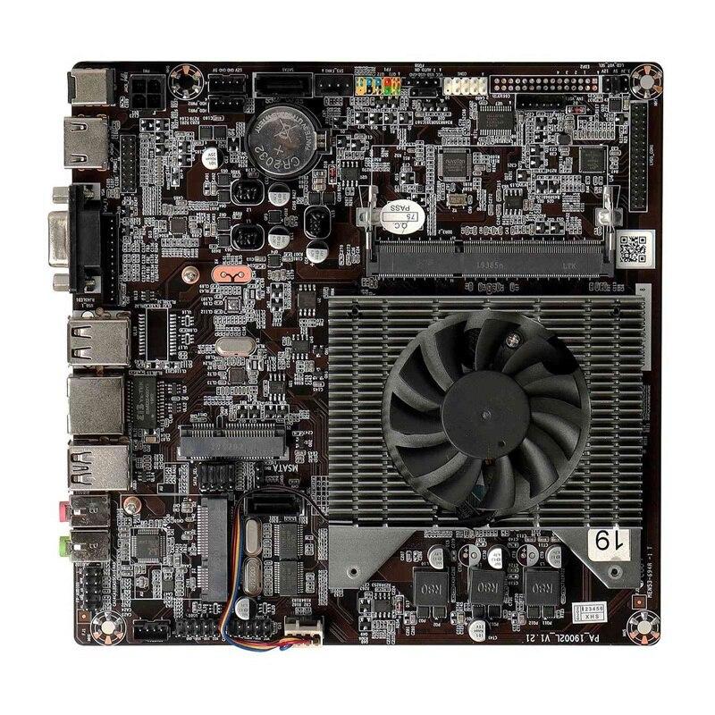 J1800 جزءا لا يتجزأ من ثنائي النواة ثنائي الخيوط 2.58GHz DDR3 رقيقة ITX الكل في واحد منخفضة الطاقة الصناعية لوحة أم للكمبيوتر