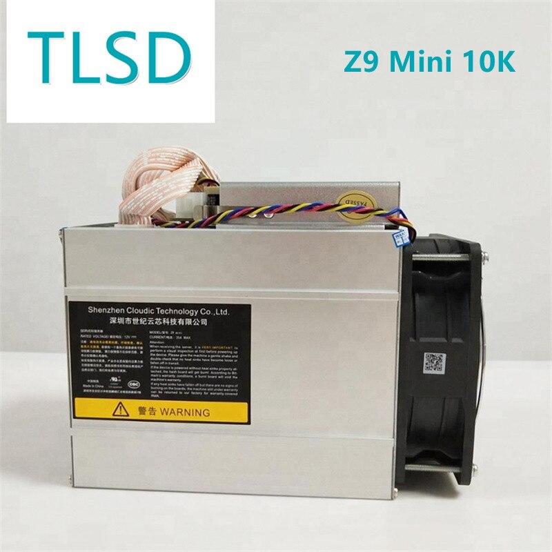 TLSD Used ZEC Mining Bitmain Antminer Z9 Mini 10K Miner Machine