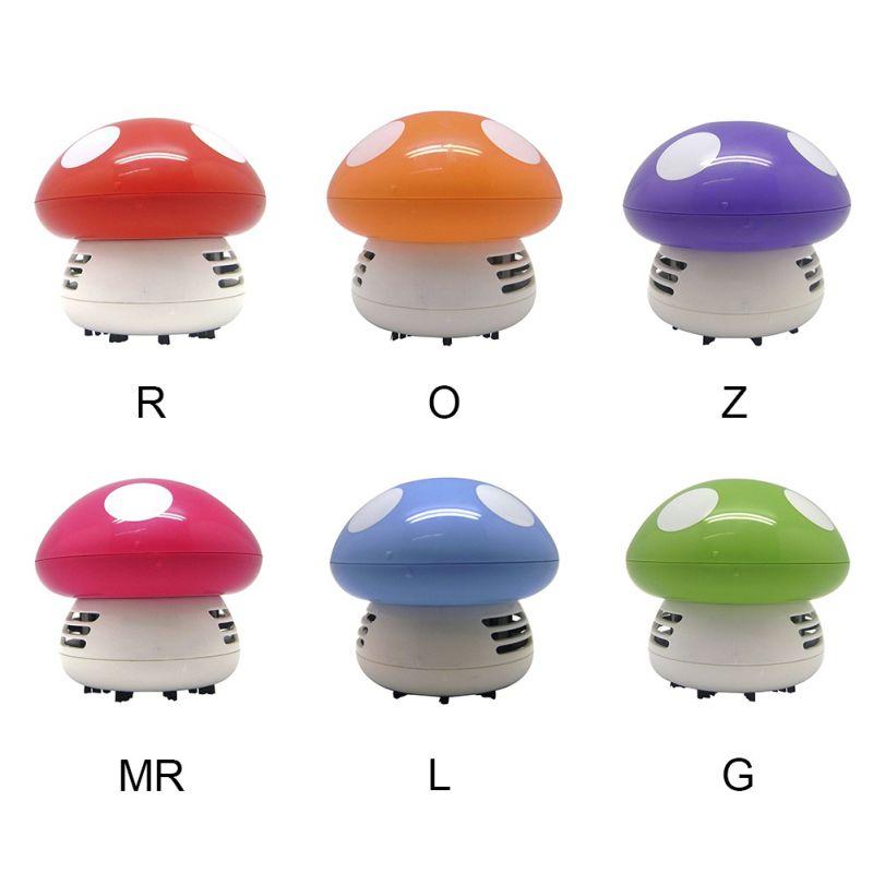 Mini Desktop Mushroom Vacuum Cleaner Household Small Frog Owl Puppy Cleaning Machine Handheld Sweeping enlarge
