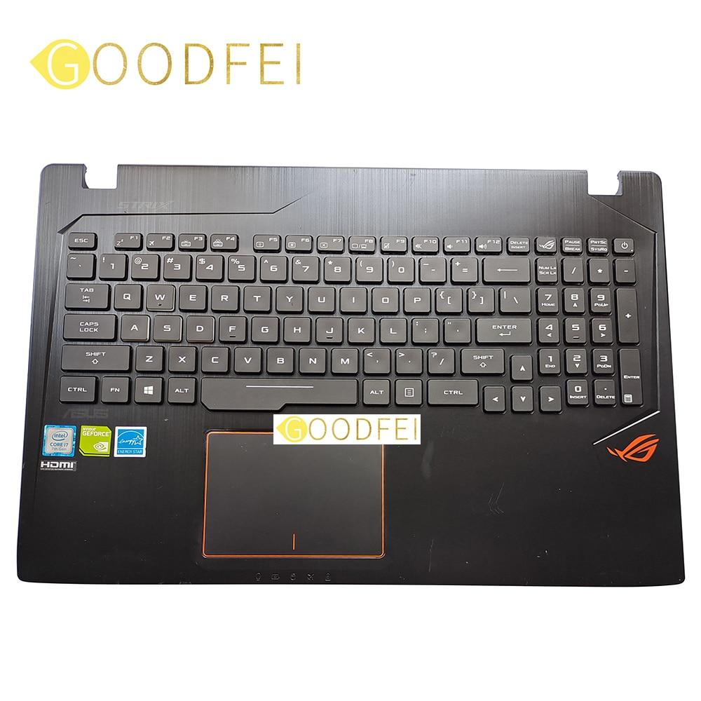 غطاء إطار لوحة المفاتيح لـ Asus Rog GL553 GL553VD GL553VE GL553VW ZX53V ZX53VD ZX53VE ZX53EW Palmrest