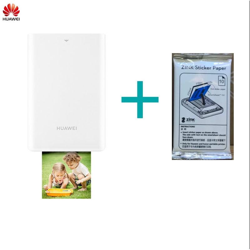Original Huawei portable photo printer CV80 Polaroid photo paper fast inkless printing Huawei CV80