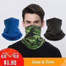 Head Face Neck Sunshade  Bike Headbands Collar Gaiter Tube Bandana Scarf Sports Headwear Scarf Outdo