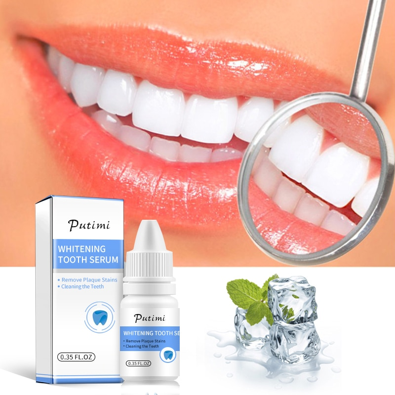 Teeth Whitening Serum Gel Dental Oral Hygiene Effective Remove Stains Plaque Teeth Cleaning Essence Dental Care Toothpaste TSLM2