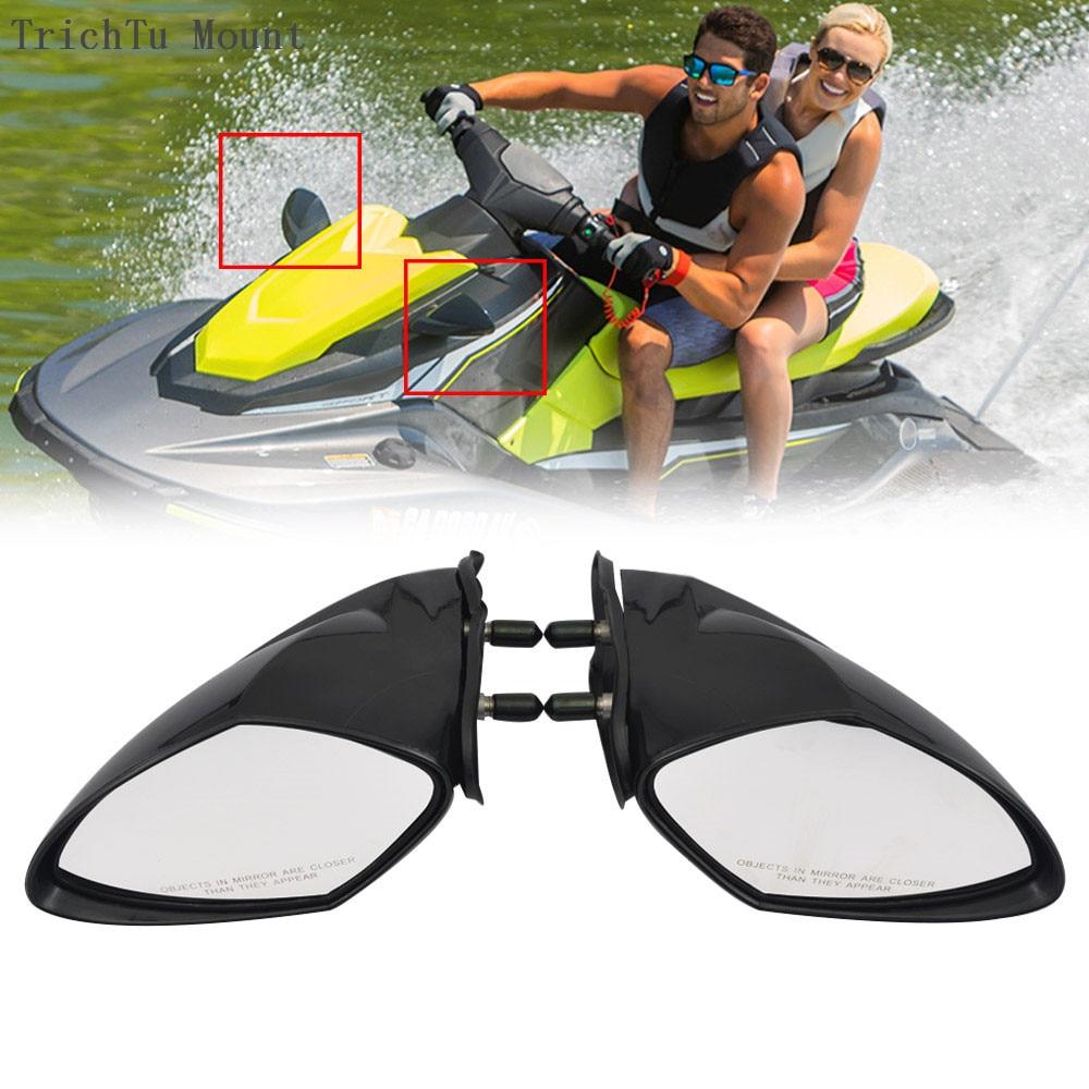 1 par motorboat espelho espelhos retrovisores para yamaha waverunner 2005-2009 06 07 08 vx110 vx 110 deluxe cruiser esporte ex exr