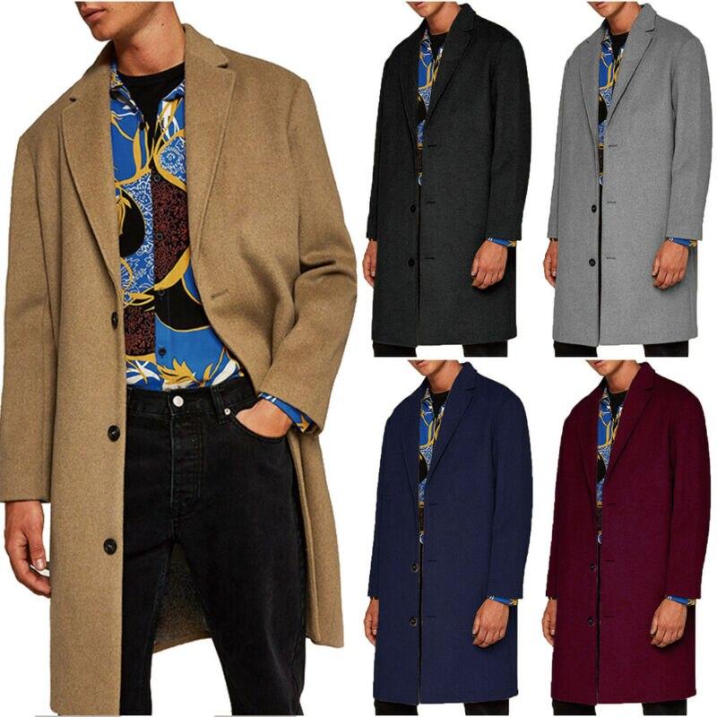 معطف رجالي سادة فرو بطانة سترة شتاء سميك دافئ ملابس خارجية مموهة