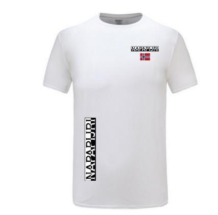 Летняя Горячая Распродажа 100% Хлопковая мужская футболка в стиле хип-хоп футболка с короткими рукавами Модная брендовая Высококачественная...