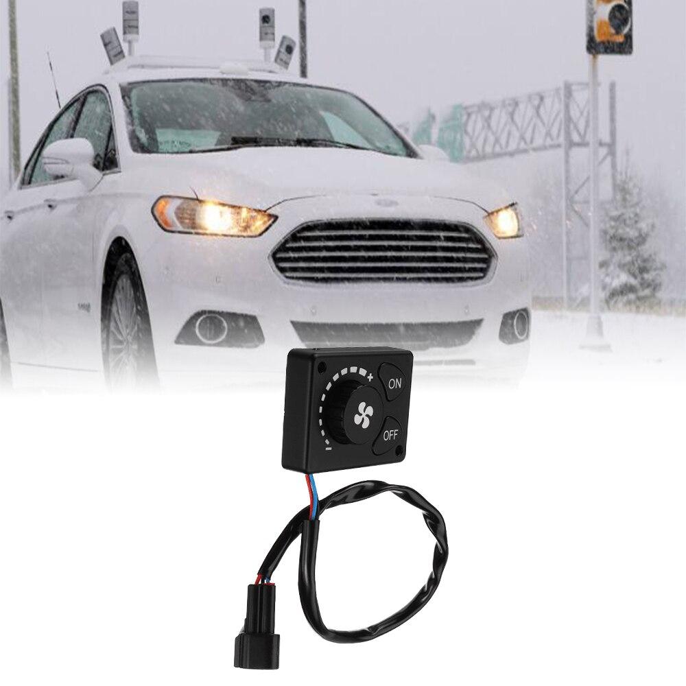 12V/24V aparcamiento calentador de controlador interruptor de botón Premium suministros camión de Control remoto calentador de aire Diesel para coche pista calentador de aire