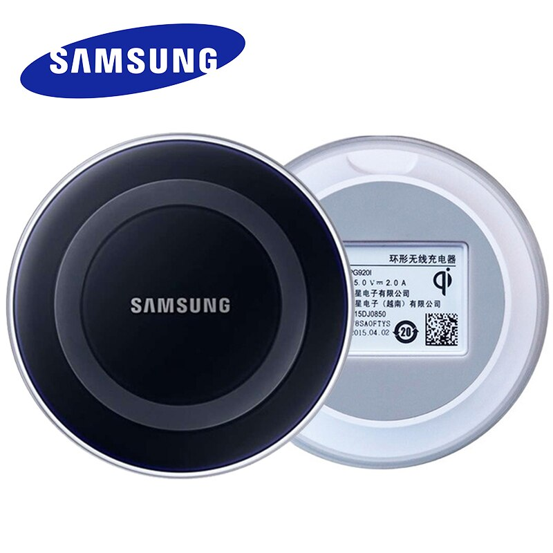 Carregador sem fio para samsung 5v2a, carregador adaptador para iphone 11 8 x xs xr galaxy s6 s7 edge s8 s9 s10 plus note 10 10 + mi9