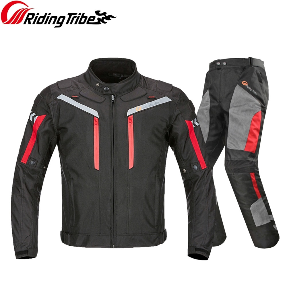 Men Motorcycle Jacket Pants Summer Winter Riding Protective Suit Rally Motocross Motorbike Racing Clothing Jackets