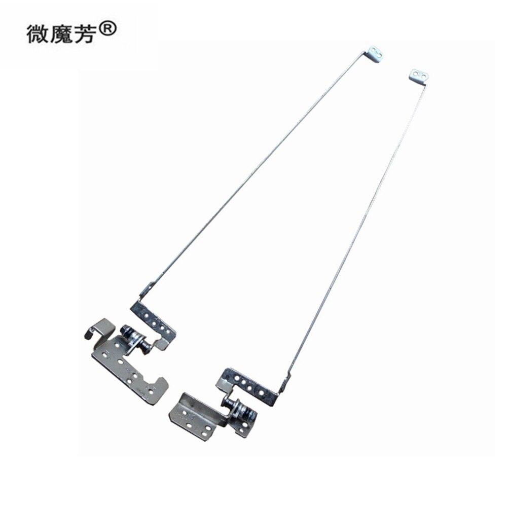 مفصلات LCD لأجهزة الكمبيوتر المحمول باكارد بيل LE11 LE11BZ LV11 LV11HC LV44 LV4 LCD المفصلي مجموعة اليسار + اليمين 13N0-7NM0202 13N0-7NM0102
