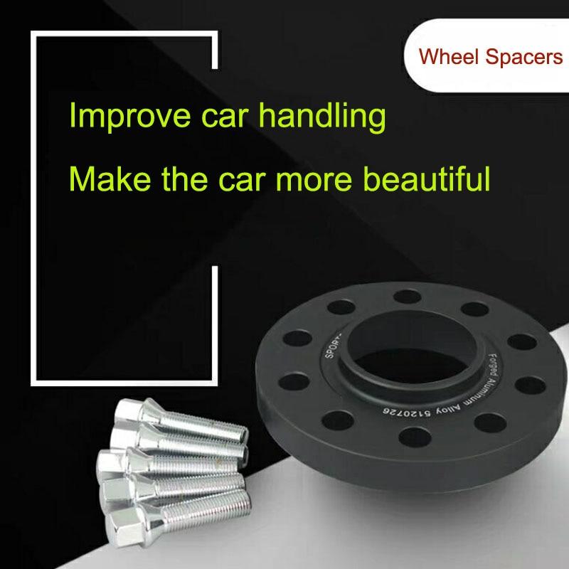 Espaciadores de rueda para coche, adaptador de rueda para BMW E46, E34,...