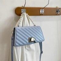 fashion women crossbody bags for women 2021 spring soft waterproof pu leather ladies shoulder bags designer messenger bag