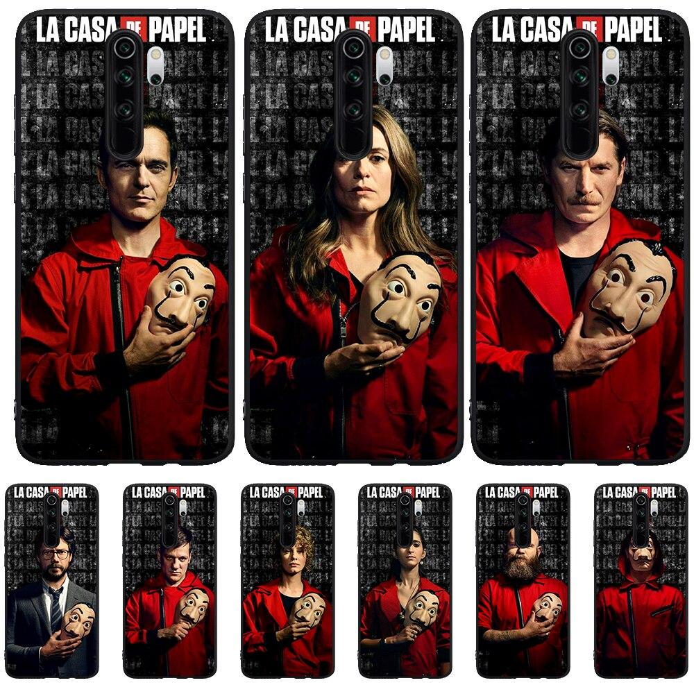 2020 Spain TV La Casa papel Money Heist House Paper Phone case for Xiaomi Mi 9T Redmi Note 5 6 7 8 K20 K30 9T Pro silicone etui