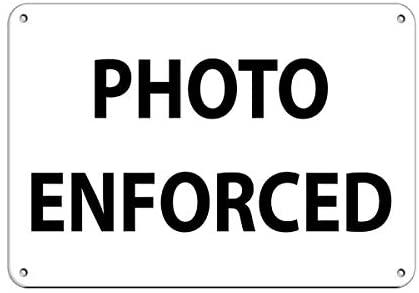 Crysss Предупреждение ительный знак, фото усиленный Мультитул, дорожный знак, деловой знак 8x12 дюймов, алюминиевый металлический знак