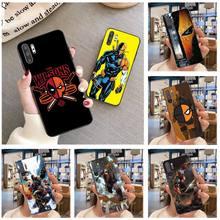 Deathstroke Phone Case For Samsung Galaxy Note20 ultra 7 8 9 10 Plus lite J7 J8 Plus 2018 Prime