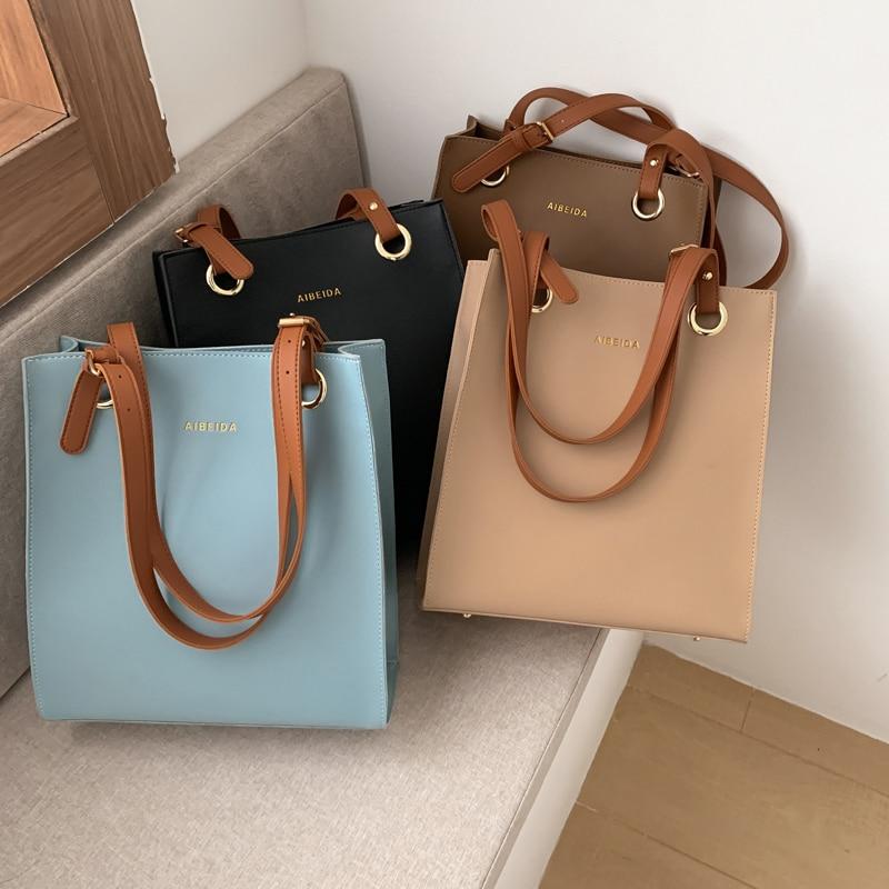 Tamara Handbags Women Fashion Bags Designer Tote Luxury Brand Leather Shoulder Bag Women Top Handle Bag Female Sac A Main 2020