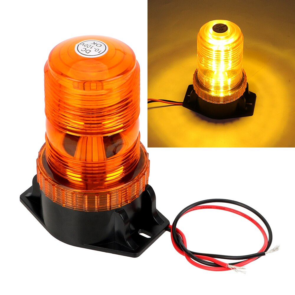 DC 12 V UniversalTruck Warning Light Car-styling Strobe Emergency Lamp Flash Beacon LED Strobe Flashing Light Car Accessories