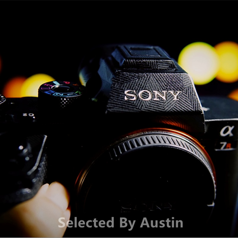 A7II كاميرا الجلد لصائق لسوني A7R2 A7RII A7S2 A7M2 A7SII A7II ألفا 7II التفاف واقي الفيلم المضادة للخدش ملصق لاصق لامع ورائع
