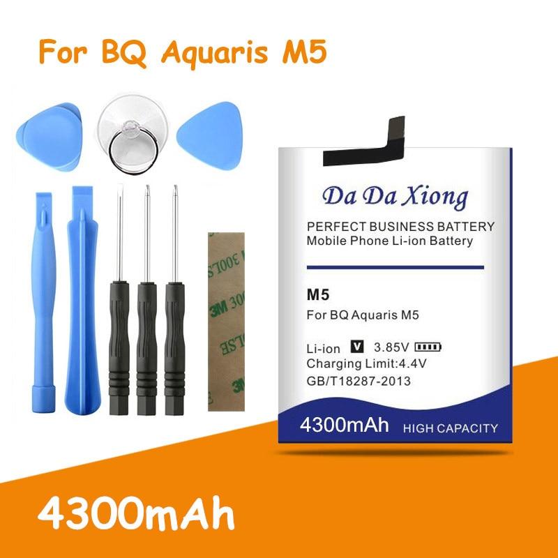 Batería de seguridad auténtica para BQ Aquaris 4300, 3120 mAh, M5 3120,...