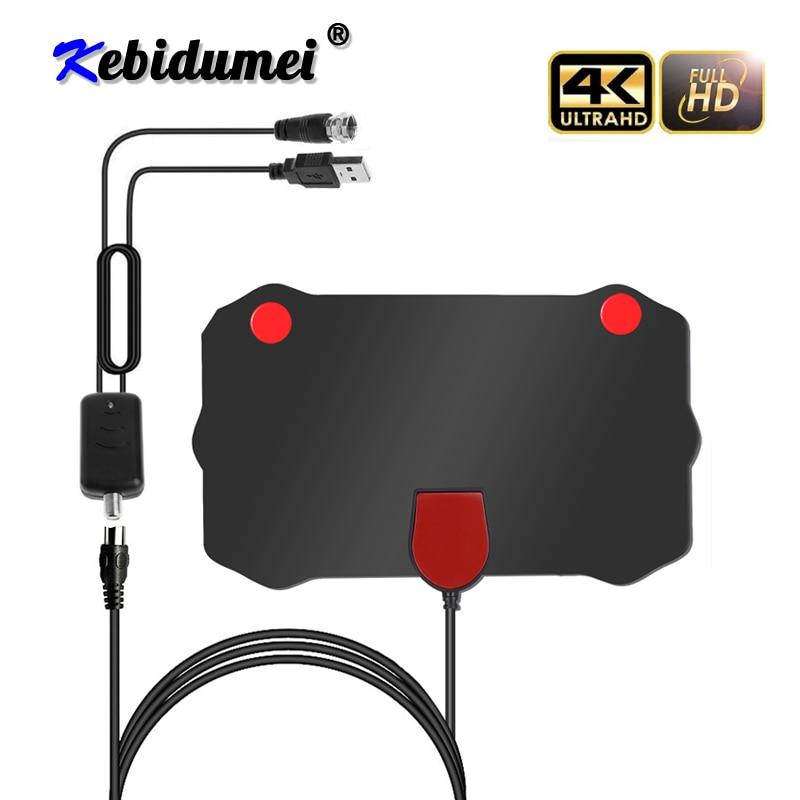Kebidumei 1080 720p 屋内デジタルテレビアンテナ HD HDTV Antena DVB-T/T2 DVB T/T2 DVBT2 ケーブルテレビ antena UHF VHF DTV アンテナ空中