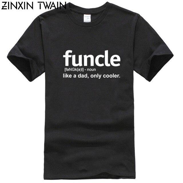 Camiseta Enjoythespirit para hombres, divertida camiseta de definición, regalo divertido para el tío Proud A tío Tees Like A Dad Only Cooler, camiseta suave