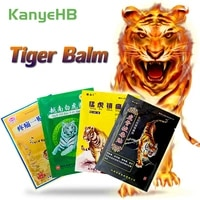 8pcsbag of 4 types tiger balm plaster pain relief patch muscle back knee arthritis fast relieve pain chinese medicine plaster
