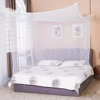 2021 new double bed lace bed mosquito insect netting mesh canopy princess full size bedding net bed curtain tent polyester fiber